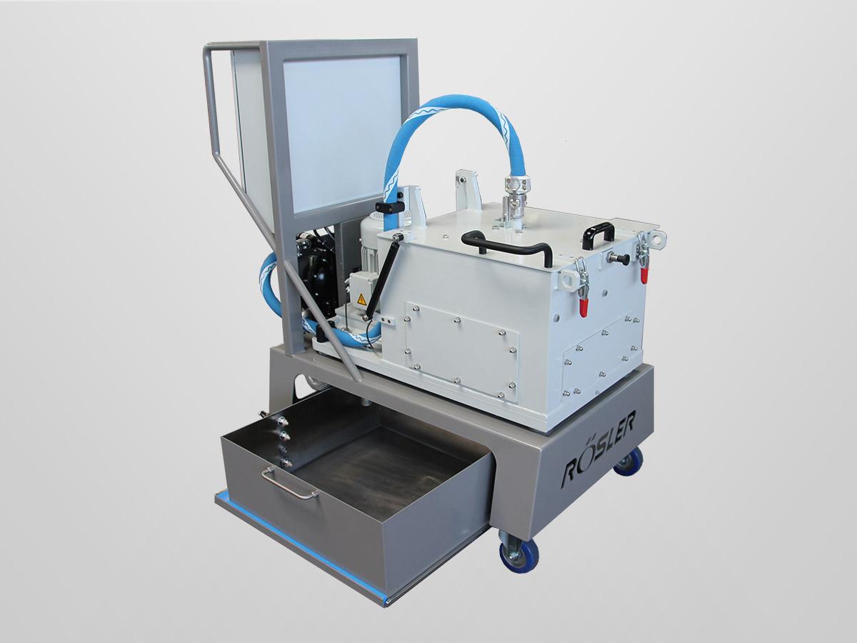 wirówka przemysłowa półautomatyczna RZ 120M